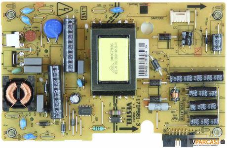 VESTEL - 23154322, 17IPS61-3, V1 160913, Vestel Power Board, Vestel Led tv, Fınlux 28''