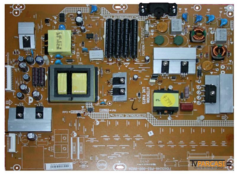 Philips 40pfl3107h схема