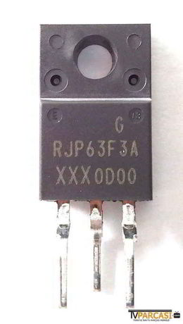 - RJP63F3, RJP63F3A, 630V 40A N-ch IGBT, RJP63F3A Silicon N Channel IGBT High Speed Power Switching