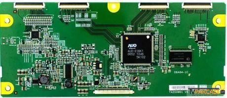 AUO Optronics - T420XW01 V5 CTRL BD, 06A64-1B, 5542T01046, T Con Board, T420XW01 V.5, BEKO FB106 2HD VD LCD TV