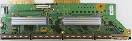 PANASONIC - TNPA4384, TXNSD1QMTB, TNPA4384 1SD, DRV, Buffer Board, MD-42MF10E2N, PANASONIC TH-42PY70FA