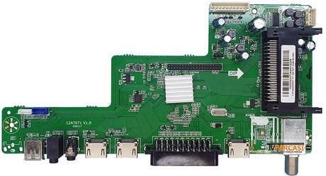 12AT071 V1.0, S50117, 12AT071 DVB-S2 MNL, SUNNY, CX390DLEDM, Main Board, SUNNY, SN039LD071-S2