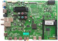 VESTEL - 23211203, 23211204, 17MB91-2, V1 040213, Main Board, LG Display, LC420EUE-PFF1, 6091L-2864A, VESTEL 3D SMART 47PF9090 47 LED TV