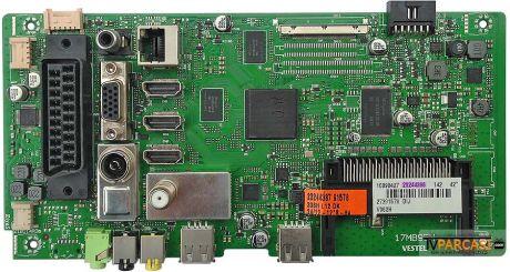 23244386, 23448387, 17MB95M, VESTEL SMART 42PF7175 42 LED TV, VES420UNVL-2D-S02