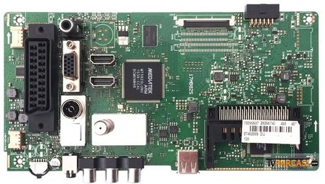 23296740, 17MB82S, 14042014 R4A, Main Board, VES395UNDC-2D-N01, VESTEL SATELLITE 40FA5050 40 LED TV