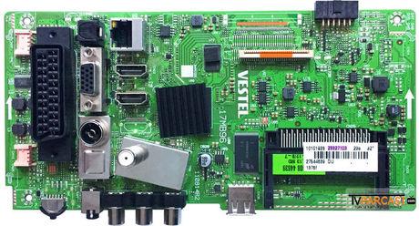 23327103, 17MB96, 110814R2, Main Board, VESTEL 32HA7020, VESTEL 32HA7020 HD Ready Uydu Alıcılı Led Tv