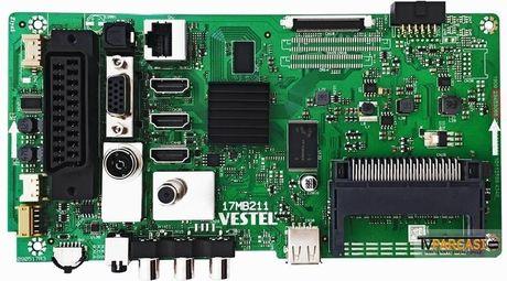 23453068, 17MB211, 090517R3, VES430UNDL-2D-N12, REGAL 43R6520F 43 SMART LED TV