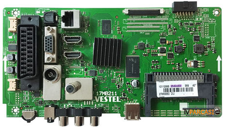 23454458, 17MB211, Main Board, VES395UNDC-2D-N12, 23398251, REGAL 40R6020F 40 SMART LED TV