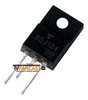 KARIŞIK - 30J124, GT30J124, TO220, 30F124, GT30J124 - IGBT 600V 200A TO220SIS, Transistor Silicon N Channel IGBT