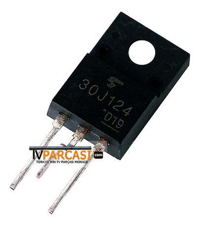 30J124, GT30J124, TO220, 30F124, GT30J124 - IGBT 600V 200A TO220SIS, Transistor Silicon N Channel IGBT