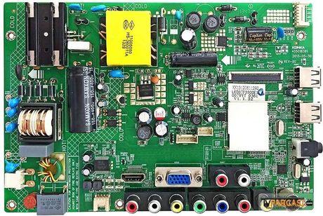 35018381, KK13120611292, LED37F3300E1, Main Board, KONKA, LED37F3300EMZ, KL13-0361MZ, LKY1351K4140319F7XX1, KONKA LED37F3300E