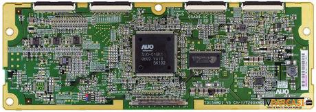 5531T01107, 55.31T01.107, 05A09-1C, T315XW01_V5 CTRL, T260XW02 V2 CTRL, T-Con Board, AU Optronics, T315XW01 V.5