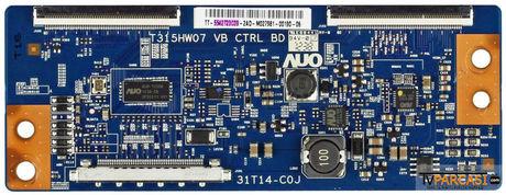 5542T23C02, 55.42T23.C02, 5542T23C09, TS-5542T23C09, 31T14-C0J, T315HW07 VB CTRL BD, T-Con Board, AU Optronics, T420HVN01.1, T420HVN01.2