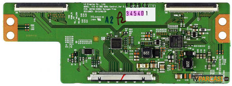 6871L-3454D, 3454D, 6870C-0480A, V14 42 DRD 60Hz Control Ver 0.3, T-Con Board, LG Display, LC420DUE-FGA3, LC420DUE-FGP2, 6091L-2652A