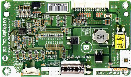 6917L-0146A, KLS-E320SNAHF06, KLS-E320SNAHF06 B REV.0.0, LC320EUN-SFM1, 6900L-0673C