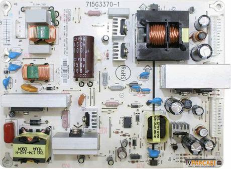 715G3370-1, ADTV82412AC7, Power Supply Board, Toshiba 26AV605PG, 26AV615DB