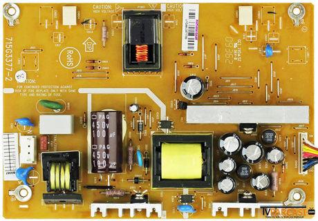 715G3377-2, PWTV8C41GAAK, Power Board, Power Supply Board, Backlight Inverter, LG, LC220WXE-TBA1, Toshiba 22AV615DB