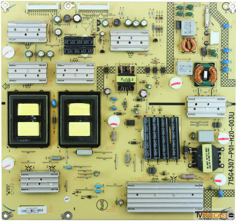 715G4307-P01-H20-003U, ADTVA2416AAB, Psu, Power Board, Toshiba 42SL738G, Toshiba 42SL738B