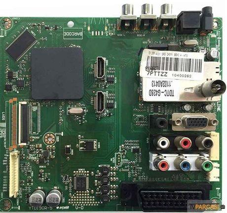7PTTZZ, YTD190R-5, T370HW03 V.D, Main Board, ARÇELİK TV 94-203 FHD LCD TV