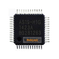 - AS19, AS19-H, AS19-H1G, QFP48, LCD TV Gamma Driver ıc, Integrated Circuit
