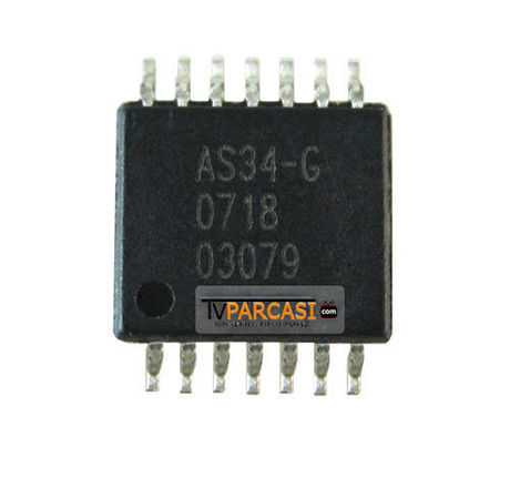 AS34, AS34-G, AS34G, SOP14, EC5534I-G, T-Con IC, GAMMA IC, GAMMA CORRECTION