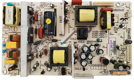 AY135L-4HF01, 3BS0031414, Power Board, NORDMENDE LC100N7FM