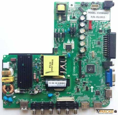 CV59H-A42, CV59HA42, CV59H-A42-11-P005 A, E01-V59-HA42, Premier Led tv main board, Premier PR40A60 LED TV, PR 40A60, Led Monitor