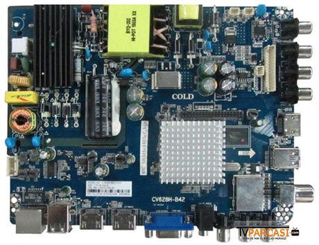 CV628H-B42, CV628H-B42-12-Y1, Main Board, INNOLUX, V400HJ6-PE1, NORDMENDE 40 LED TV