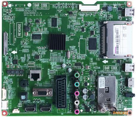 EBT62295608, 37LM611S-LGD, EAX64909901 (1.0), LD21B-LC21B, Main Board, LG Display, LC370EUN-SEF2, 6900L-0638A, LG 37LM611S