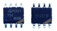 - FDS6930B, FDS6930, FDS6930B, N-Kanal 30V 5.5A 8-SOIC MOSFET