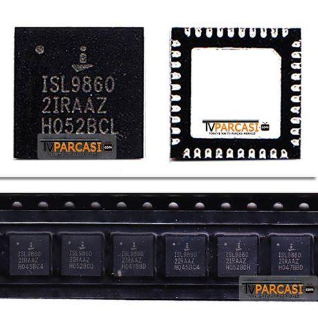 ISL9860, ISL98602IRAAZ, ISL9860 2IRAAZ, Voltage Regulators, Intersil Switching Voltage Regulators, 5351TP, RUNTK 5351TP, 5351TP ZA, 0055FV