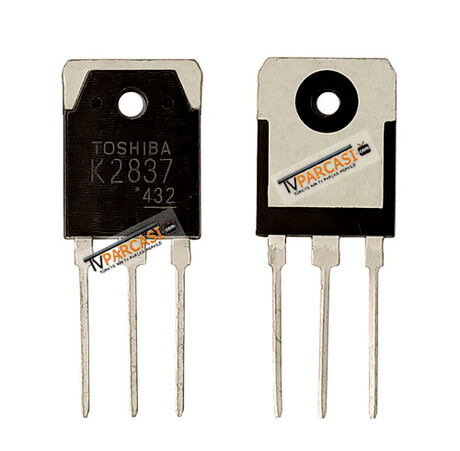 K2837, 2SK2837, N-Channel MOSFET, Power MOSFET, Field Effect Transistor Silicon N Channel MOS Type 500V 20A TO-3PN