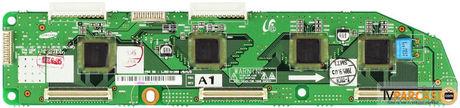 LJ41-03492A, LJ92-01356A, 42 SD S4.0 DRIVE YB(LOW), YB-Low, Y-Buffer Low, Lower Buffer, Buffer Board, Samsung, S42SD-YD07