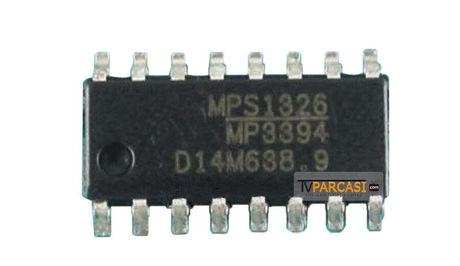 MP3394, MP3394ES, MP3394ES-LF-Z, MPS1124, 28 V 4 Ch 200 mA/Ch Step-up WLED Driver, SOIC-16
