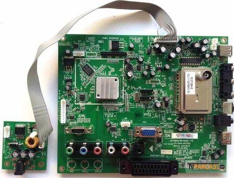 MST6M48, MST6M182 T7S, 471-01A4-64702G, REV.A4, 471R1055, M6E8-BBP188-00011, LTN173KT01, SABA, 17UZ9000LED, saba led tv main board