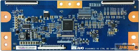 P546HW03 V0 CTRL BD, 54P03-C02, TX-5546P05C04, T-Con Board, AU Optronics, P460HVN01.1