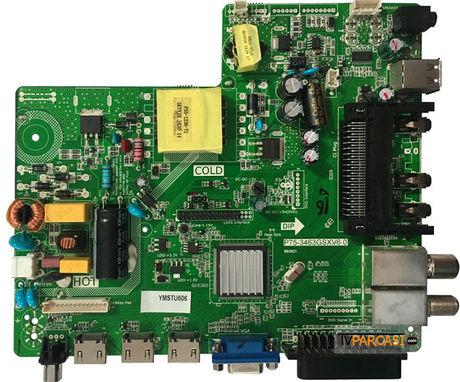 P75-3463GSXV6.0, Main Board, LG Display, LC320DXY-SHA3, YUMATU LED TV