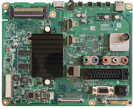 PE1070, V28A00140701, Main Board, LTA320HN03, Toshiba 32RL933