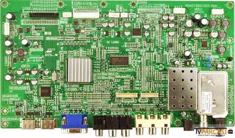 RSAG7.820.1037, RSAG7.820.1037/ROH VER.C, Main Board, LTA320AP02, LJ96-05131A, SUNNY AL-32H201, 81cm LCD RENKLİ TV