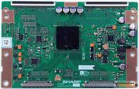 SHARP - RUNTK 4323TP ZS, CPWBX4323TP ZS, 4323TPZS, T-Con Board, Sharp, LK4600D3LA63, Philips 46PFL7605H-05