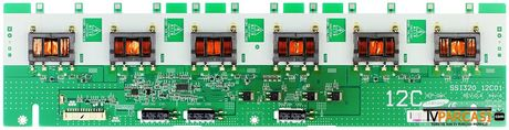 SSI320_12C01, LJ97-01564A, 1564A, 1-857-109-11, LTY320AB01, LTZ320AB01, Sony KDL-32L4000, Sony KDL-32V4000