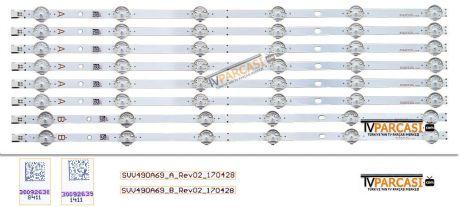 SVV490A69_A_Rev02_170428, SVV490A69_B_Rev02_170428, 30092638, 30092639, VES490QNYL-2D-N01, VESTEL 49UD8400