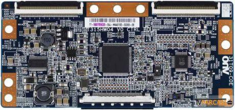 T315HW04 V0 CTRL BD, 31T09-C0E, 5537T05C23, T370HW03 V.8, T315HW04 VD, Sony KDL-37EX402