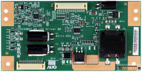 T315HW07 V8 LED Driver BD, 31T14-D06, TT-5531T14D02, T315HB01 V.0, LG 32LW5500, LG 32LW5500-ZE