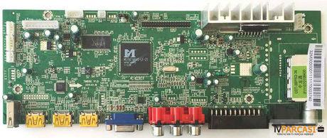 TM60G V1.0, Main Board, NORDMENDE LC32A10HV