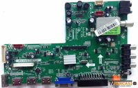 SUNNY - T.MS18VG.75B 12073, Main Board, 32 LED TV, AU Optronics, T315HW07 V.9, lifemaxx LM23103