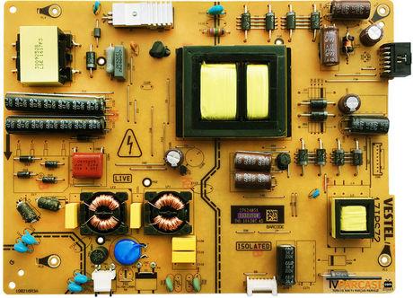 23321520, 17IPS72, Power Board, VESTEL 4K SMART 40UA8900 40 LED TV
