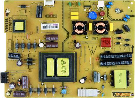 23340904, 17IPS72, 190216R3A, Psu, VES430QNDL-2D-U11, 23369162, VESTEL 4K SMART 43UB8600 43 LED TV