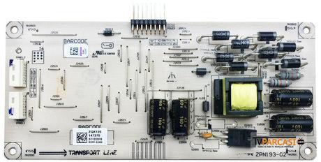ZQX120, ZQX125, ZPN193-02, LED Driver Board, 057T40-A80, 61203109